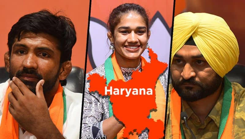 Will Babita, Yogeshwar, Sandeep fighting on a different pitch, be harbingers of change for BJP?
