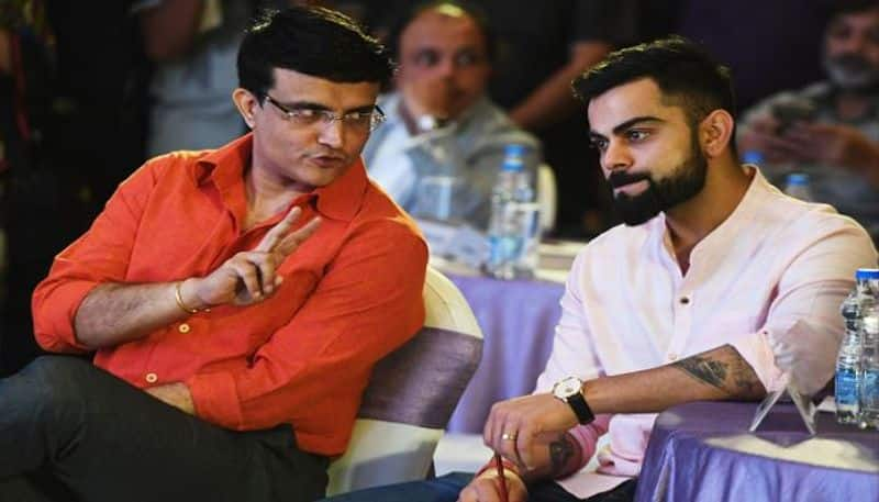 Ganguly on left it to Virat Kohli to take a call on his availability for  Bangladesh series