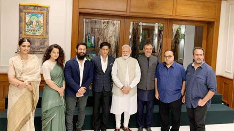 Shahrukh Khan thanks to PM Modi for discussion on change within