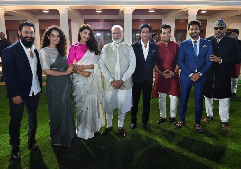 """From Shah Rukh Khan to Kangana Ranaut, Bollywood celebs praise PM Modi over discussion on """"change within"""""""