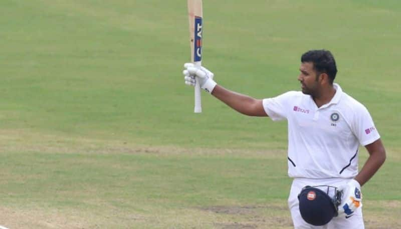 ranchi test: rohit sharma out after hitting a double ton