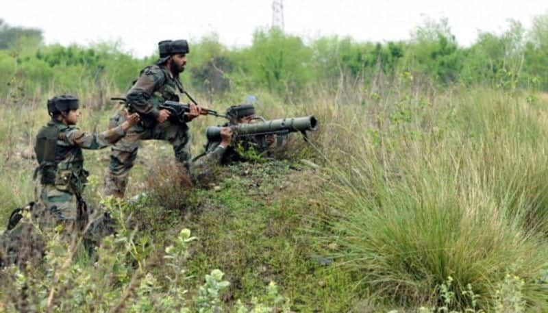 Indian Army attack terrorist camps inside PoK, Four launch pads destroyed
