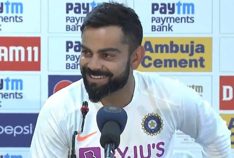 Virat Kohli Laugh in press meet after India's clean sweep victory on South Africa in test series