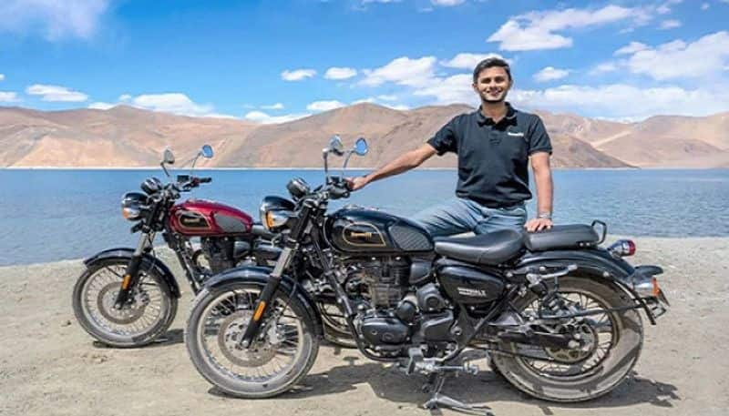 benelli launches new bike to the competiton of jawa and royal enfield