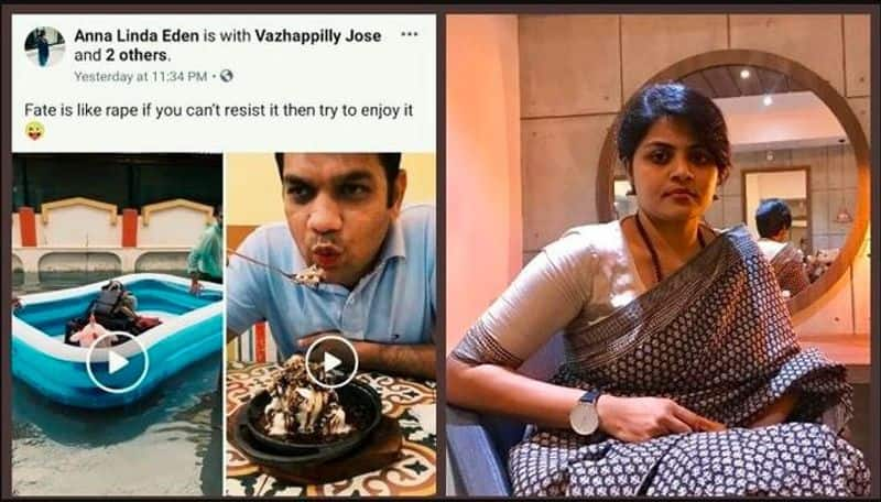 With BJP up in arms, Congress MP's wife apologises for 'Fate is like rape' post on Facebook