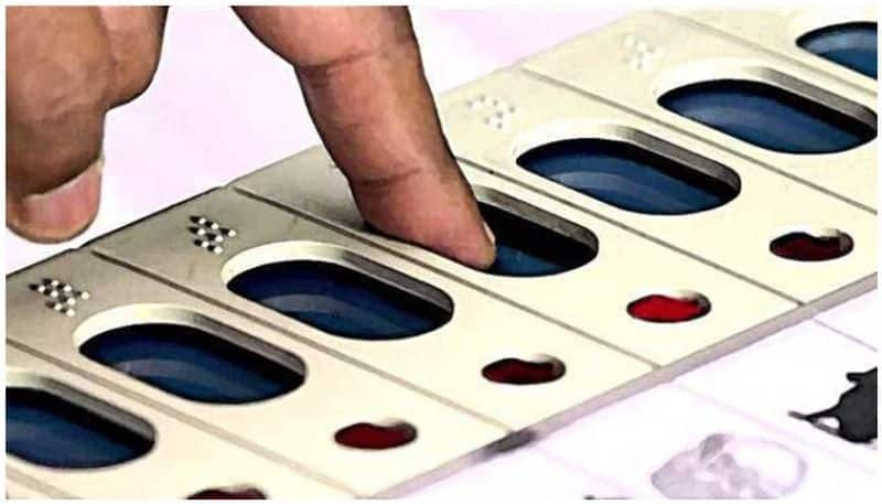 polling officer over action in nellore district ksp