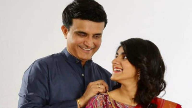 Funny chat between Sourav Ganguly and his daughter Sana Gangul