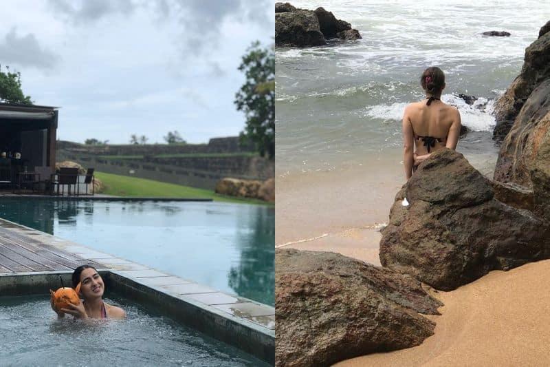 Did Sara Ali Khan head to Sri Lanka to get over break up? Her bikini pictures go viral
