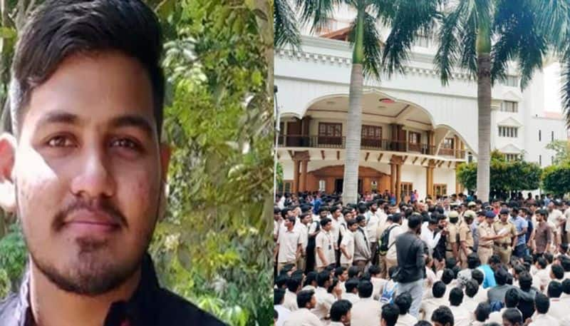 telugu engineering student commit suicide at bangalore native from vizag