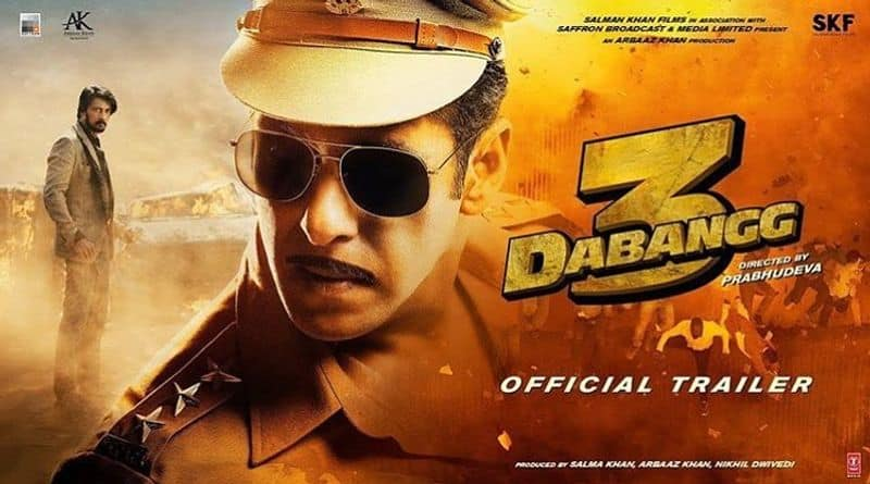 Dabangg3 trailer: Mass dialogue, fight and one-man army Salman Khan is back in style on big screen