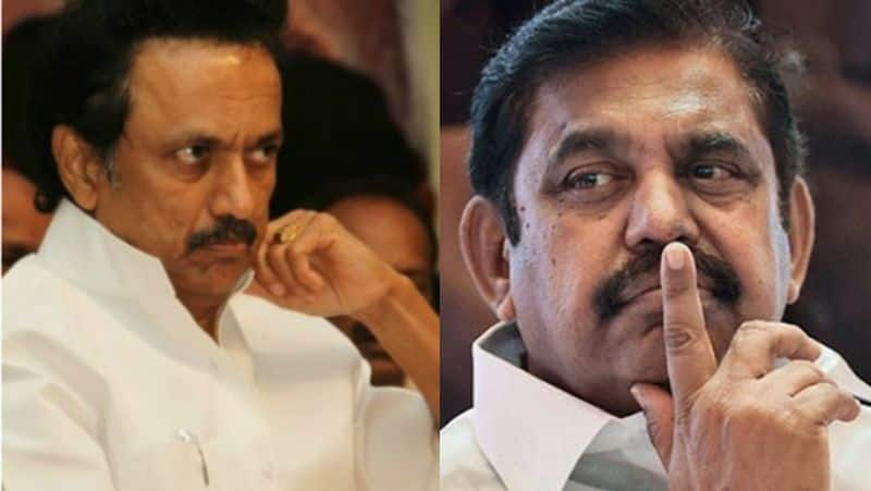 M.K.Stalin Slam Edapadi Palanisamy government