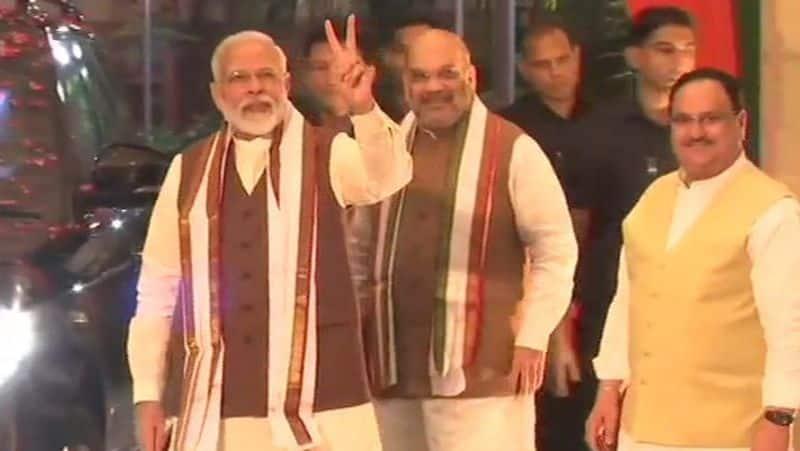 PM Narendra Modi thanks people of Maharashtra, Haryana for reposing faith in BJP