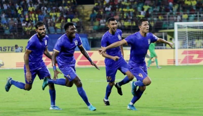 ISL Mumbai FC stun Kerala Blasters late goal Amine Chermiti