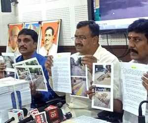 Former BJP corporator NR Ramesh levels massive irregularities in white-topping project