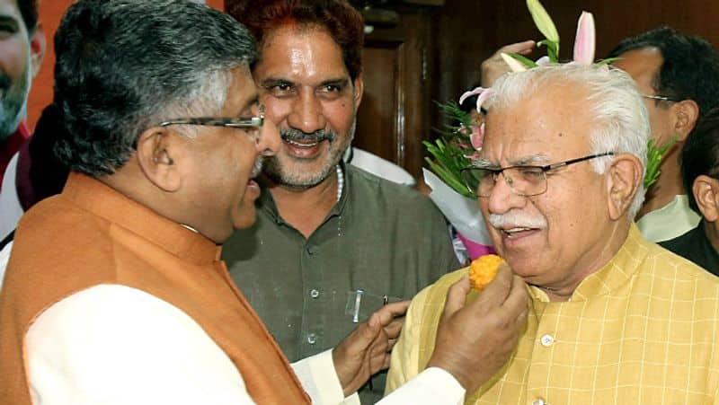 Khattar will celebrate Diwali with the post of CM today, many ministers will take oath