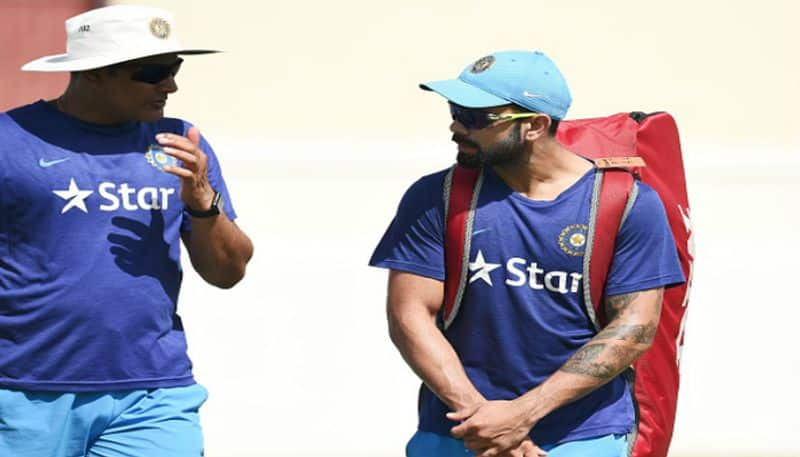 Along with Virat Kohli Anil Kumble bats for Test Centers in India