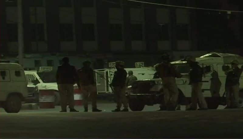 Terrorists attack CRPF camp in Srinagar, six soldiers injured