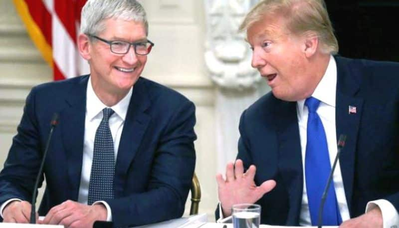 Donald Trump not happy with new iPhone design; criticises Tim Cook for knocking off the home button