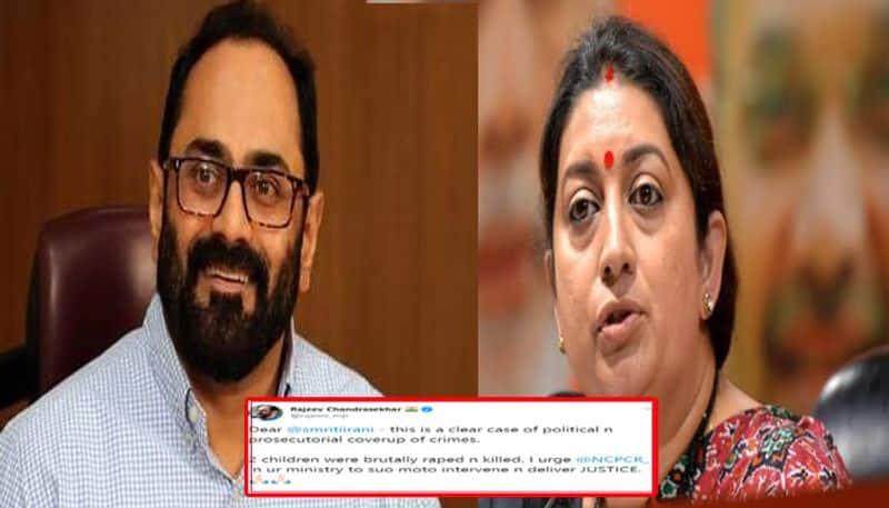 Rajeev seek to NCPCR to initiate suo motu action to death of two minor sisters in Kerala