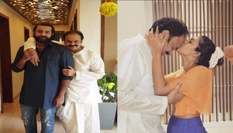 Varun Tej and Niharika birth day wishes to their father Nagababu