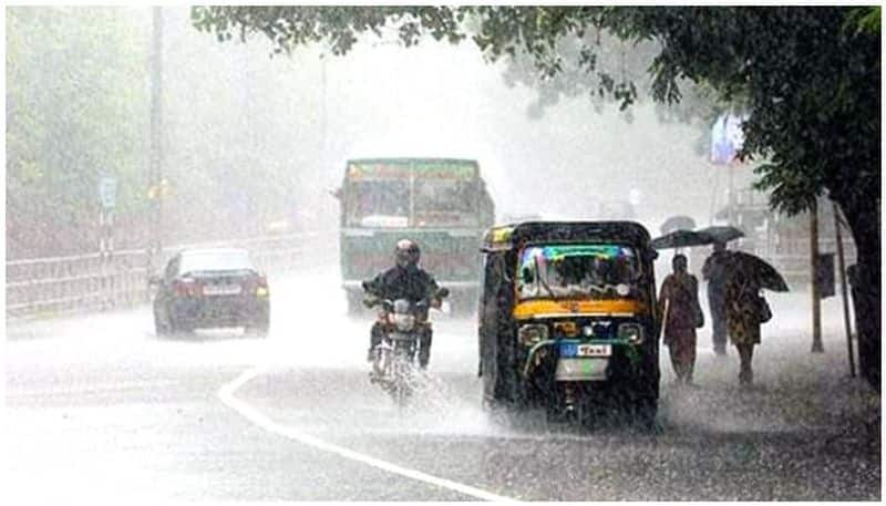 heavy rain for 4 districts