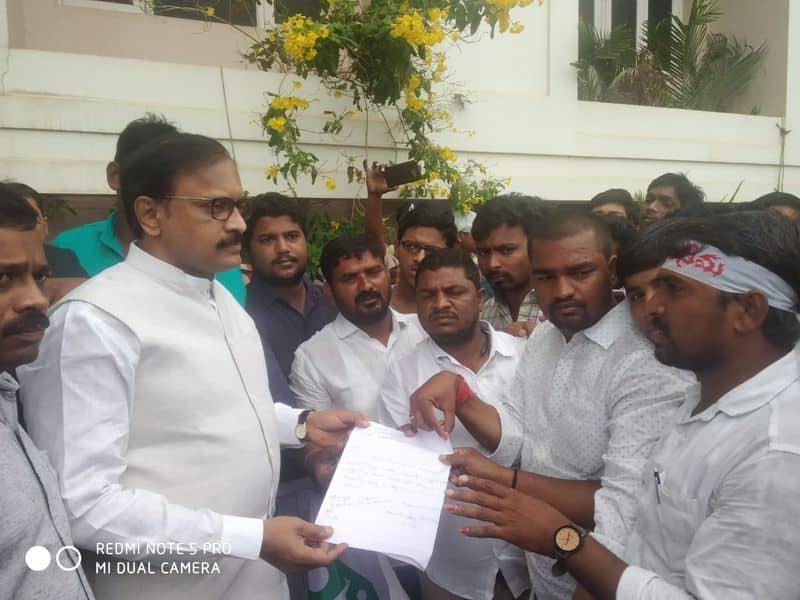 kurnool Students  and youth organisations demand shifting of high court to Rayalaseema