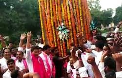 mla saidireddy tribute to Telangana Martyrs Memorial at gunpark