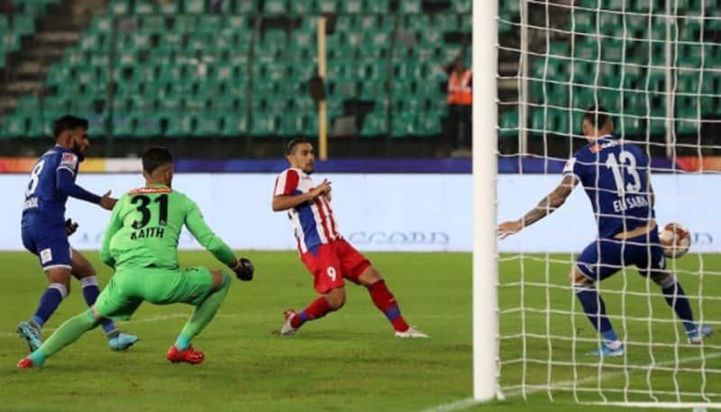 David Williams ISL 1000th goal ATK keep Chennaiyin winless