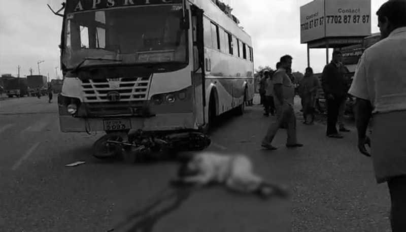 couple died in a road accident at Outer Ring Road