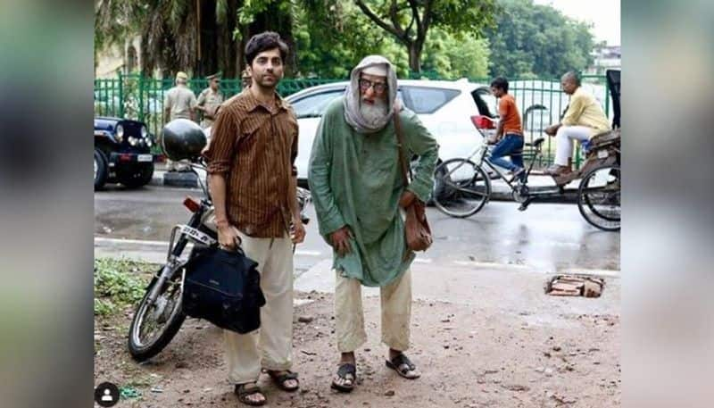 Amitabh and Ayushmann recently wrapped up the shoot of their upcoming film Gulabo Sitabo