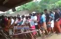 Wine shop opened in kerala after two days election holidays
