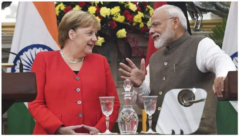 German Chancellor Angela Markel says situation of Kashmir is unsustainable