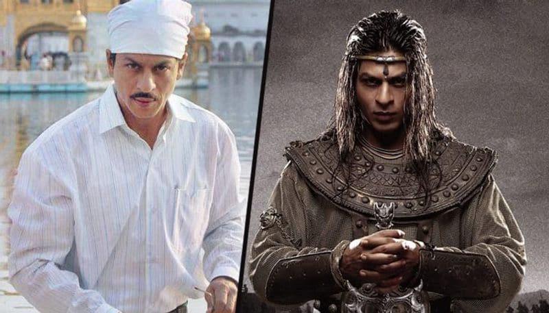 Variety shade of Shahrukh khan films in his career