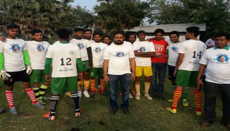 TMC leader fields a football team on the name of 'Didike Bolo'