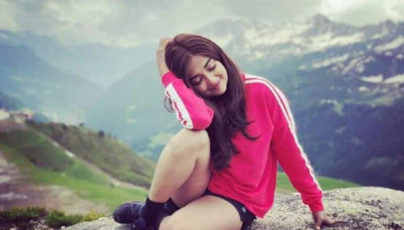 Monali thakur shares a  yoga video  on her instagram