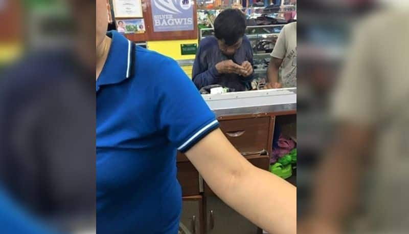 Poor father saved coins for years to buy pair of shoes for son