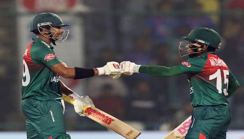 Bangladesh beat Indian by 7 wickets to win the 1st T20 at Delhi