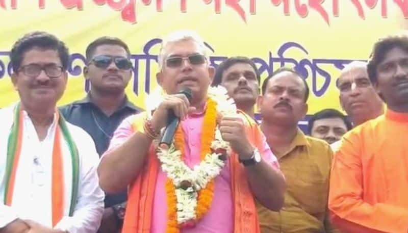 Those who slaughters cow are anti socials says Dilip Ghosh
