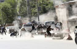 8 people died in bomb attack at afganistan