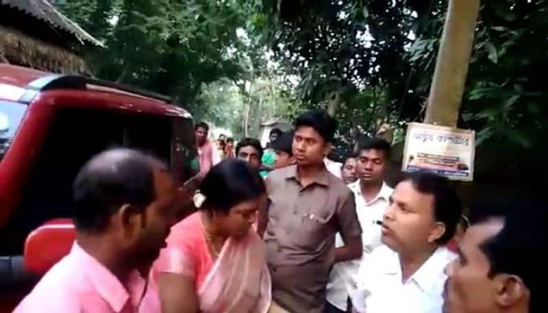 Two TMC MLA face agitation of local people in West Midnapor