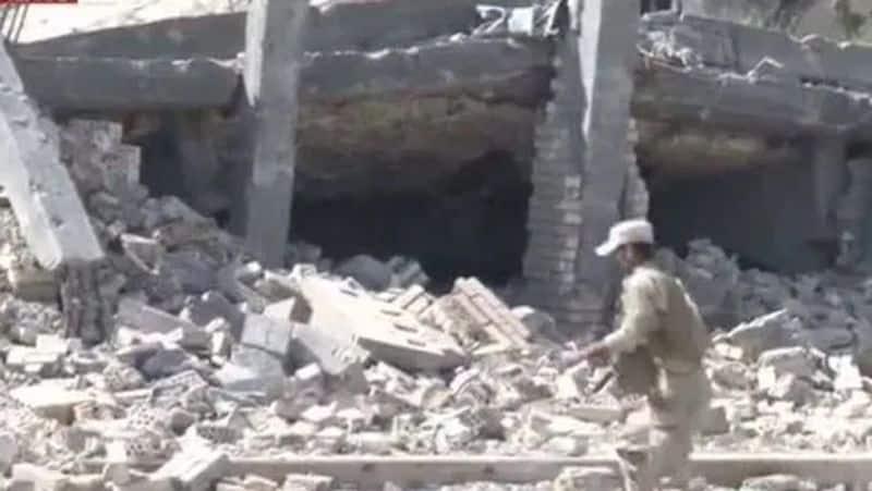 Saddam Hussain lavish tomb destroyed by military