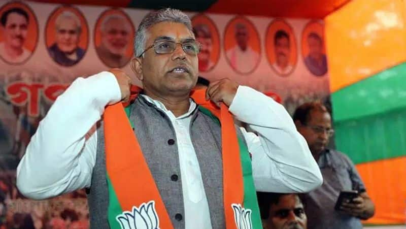 Dilip Ghosh bizarre comment on three bye election loss