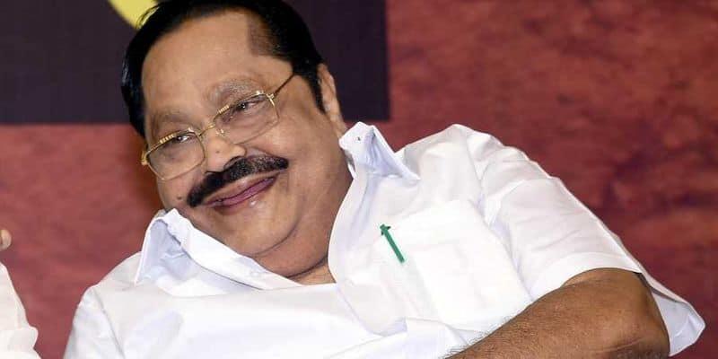 DMK General Secretary Duraimurugan corona affect