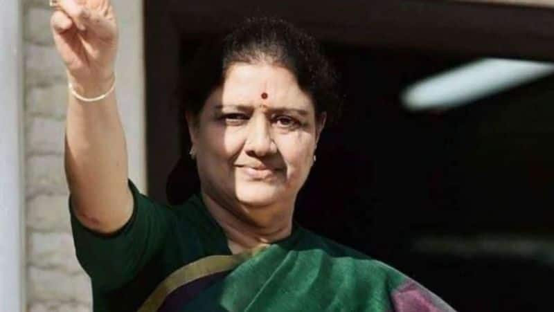AIADMK should not fall alone even if I am pushed aside ... Sasikala who changed her mind