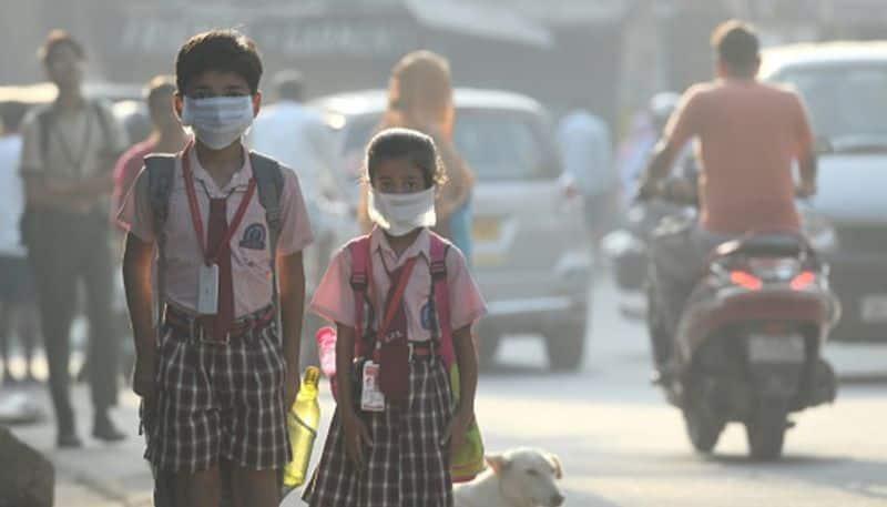 Delhi Air pollution Schools in National Capital Region reopen today