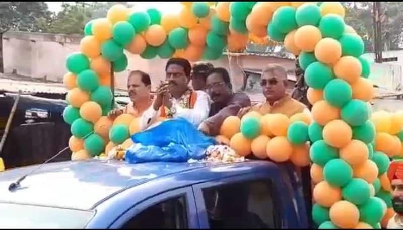 Two BJP candidates filed candidature in Kharagpur Sadar constituency