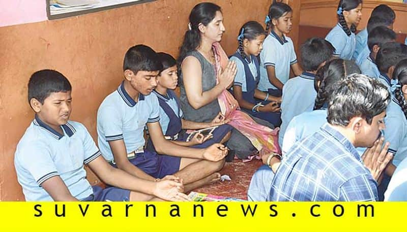 Prasad Patil founder and Ceo of Hubli Assiel Technolohies join hand with government school in education