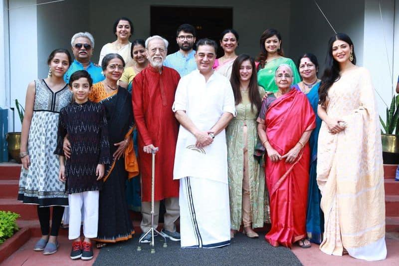 New member in Kamal Haasan's family rumours on Pooja kumar
