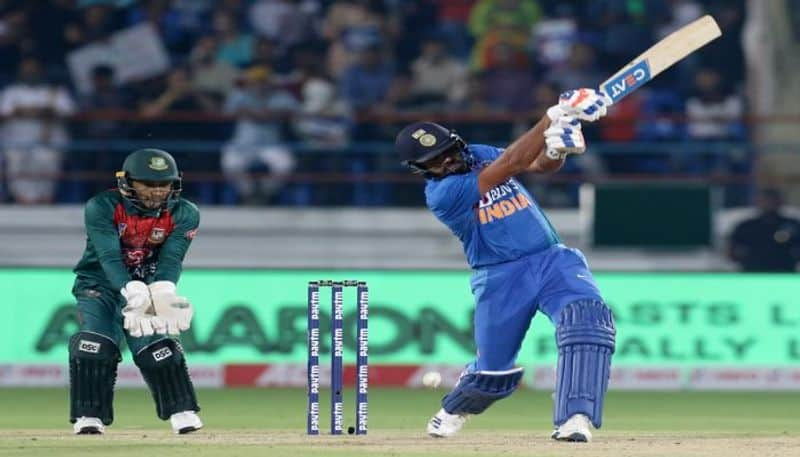No need of muscle power to hit sixes says Rohit Sharma