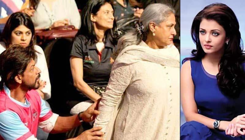 When Jaya Bachchan wanted to slap Shah Rukh Khan to protect Aishwarya Rai
